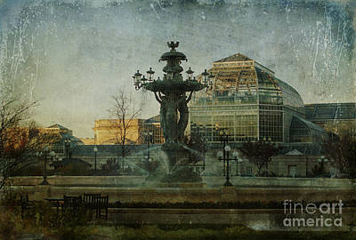 Impressionism Photos - Bartholdi Afternoon by Terry Rowe