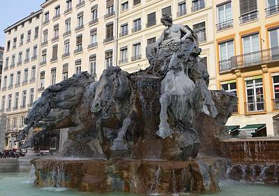Urban Abstracts - Bartholdi Fountain by Dany Lison