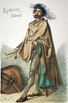 Independent Painting - Bartholomew Columbus (1445-1514) by Granger