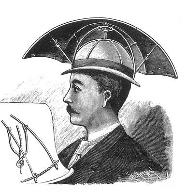 Photograph - Bartines Sunshade Hat 1890 by Science Source
