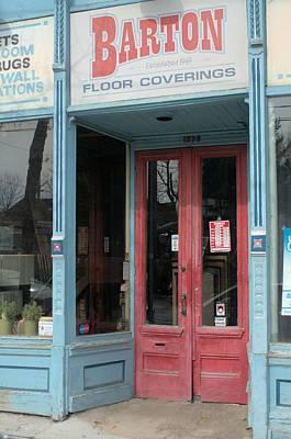 Photograph - Barton Floor Coverings by Douglas Pike