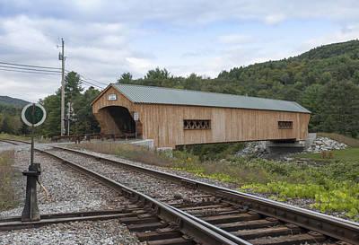 Bartonsville Covered Bridge - 2013 Art Print