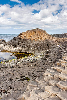 Photograph - Basalt Columns Of The Giant's Causeway by Pierre Leclerc Photography