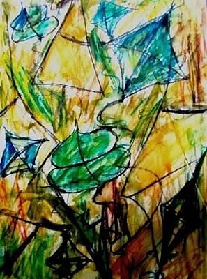 Painting - Basant II by Fareeha Khawaja