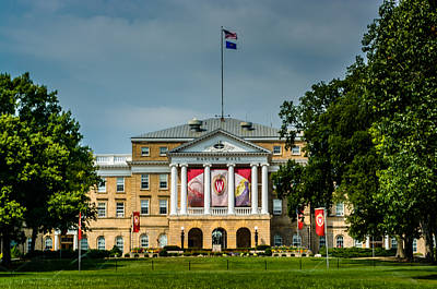 Photograph - Bascom Hall by Randy Scherkenbach