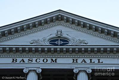 Photograph - Bascom Hall by Susan Herber