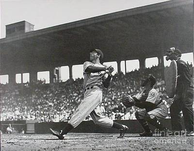 Photograph - Base Ball Out Of The Park Vintage by R Muirhead Art