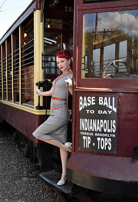 Photograph - Base Ball To Day Color Version by Jim Poulos