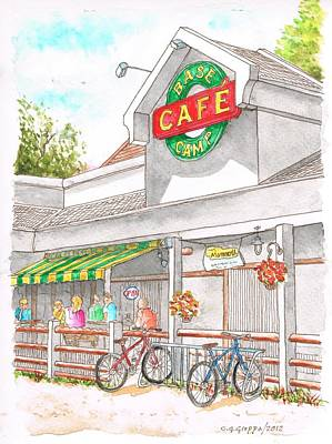Base Camp Cafe In Mammoth Lakes, California Original by Carlos G Groppa
