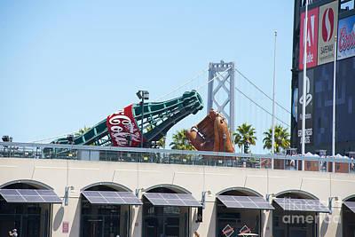 Photograph - Baseball And Coca-cola -- World Champs 2014 by David Bearden