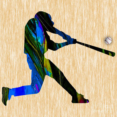 Baseball Art Art Print by Marvin Blaine