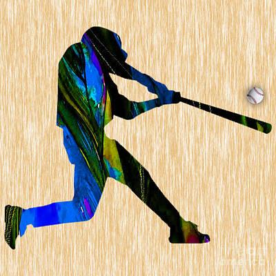 Baseball Art Art Print