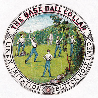 Baseball Painting - Baseball, C1869 by Granger