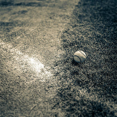 Baseball Field 1 Art Print by YoPedro