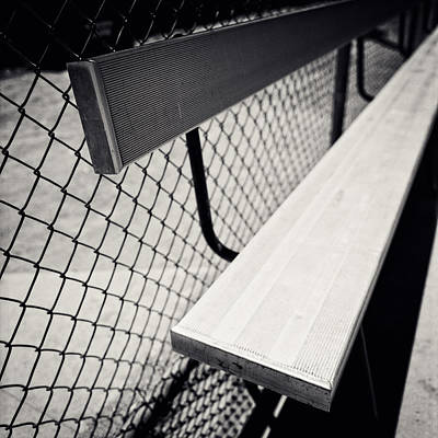 Bleachers Photograph - Baseball Field 10 by YoPedro