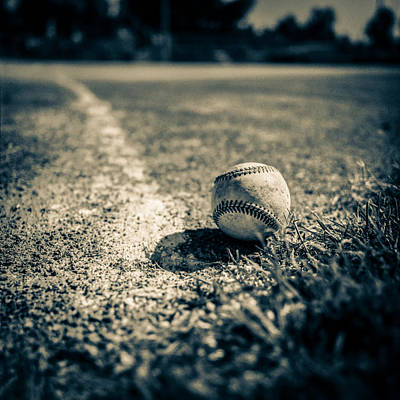 Baseball Field 2 Art Print by Yo Pedro