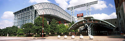 Stadium Scene Photograph - Baseball Field, Minute Maid Park by Panoramic Images