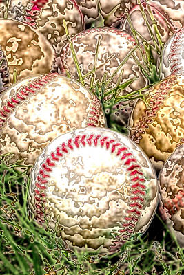 Antlers - Baseball - Field of Dreams by David Patterson