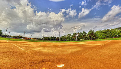 Baseball Field Art Print