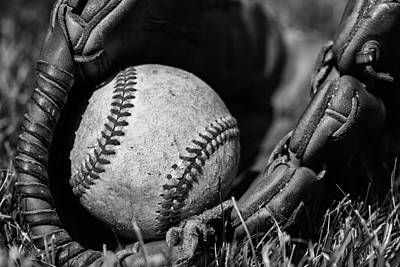 Sports Royalty-Free and Rights-Managed Images - Baseball Gear by Karol Livote