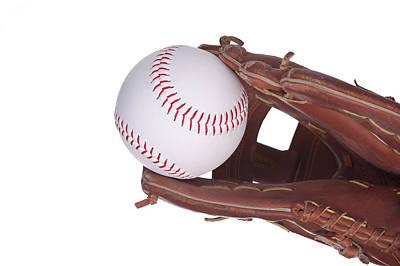Photograph - Baseball Glove by Marek Poplawski