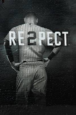 Celebrities Royalty-Free and Rights-Managed Images -  Derek Jeter Respect by Jewels Hamrick