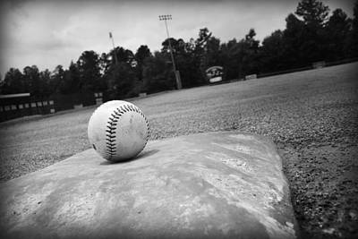 Baseball Fields Photograph - Baseball by Kelly Hazel
