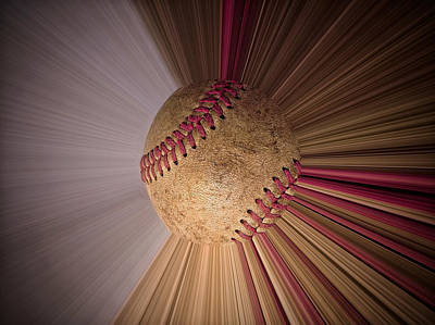 Photograph - Baseball Macro Xi by Bill Owen