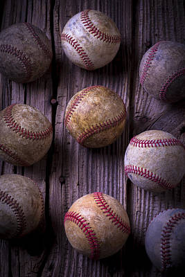 Baseball Art Photograph - Baseball Memories by Garry Gay