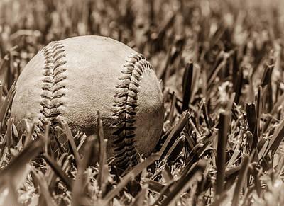 Justin Woodhouse Photograph - Baseball Nostalgia Series Number Four by Kaleidoscopik Photography
