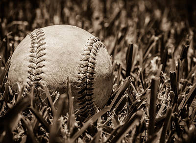 National Past Time Photograph - Baseball Nostalgia Series Number Three by Kaleidoscopik Photography