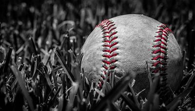 Justin Woodhouse Photograph - Baseball Nostalgia Series Number Two by Kaleidoscopik Photography