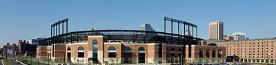 Baseball Park In A City, Oriole Park Art Print by Panoramic Images