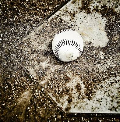 Baseball Royalty-Free and Rights-Managed Images - Baseball Rocks by Shawn Wood