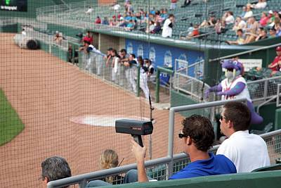 Minor League Photograph - Baseball Scout by Jim West