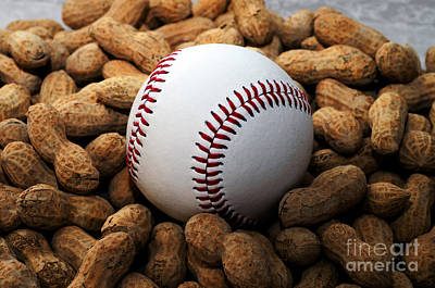 Photograph - Baseball Season Edgy by Andee Design
