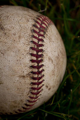 Photograph - Baseball - The National Pastime by David Patterson