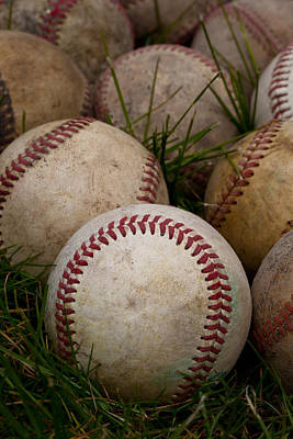 Baseball Royalty-Free and Rights-Managed Images - Baseballs by David Patterson