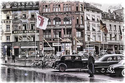 Vintage Europe Photograph - Basel Switzerland 1950's by Eric  Bjerke Sr
