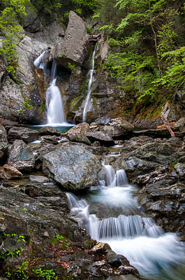 Photograph - Bash Bish Falls - Spring by Expressive Landscapes Fine Art Photography by Thom