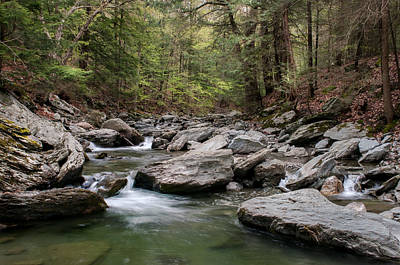 Photograph - Bash Bish River  by Expressive Landscapes Fine Art Photography by Thom