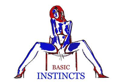 Basic Instincts Art Print by Steve K