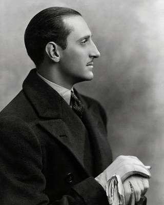 Heat Wave Photograph - Basil Rathbone In The Play Heat Wave by Irving Chidnoff