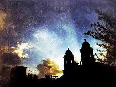 Photograph - Basilica At Sunset by Mark Block