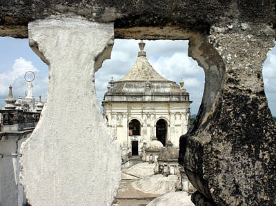 Photograph - Basilica Catedral De La Asuncion 1747 Leon Nicaragua 003 by David Beebe