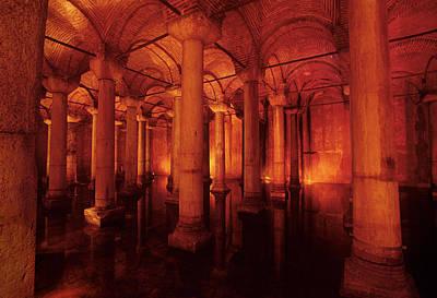 Basilica Cistern Art Print