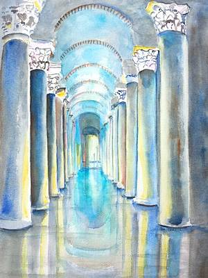 Basilica Cistern Istanbul Turkey Original by Carlin Blahnik