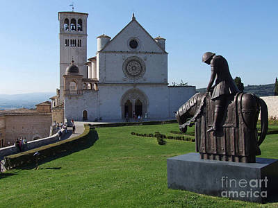 Basilica Di San Francesco Photograph - Basilica Di San Francesco - Assisi by Phil Banks