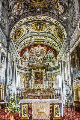 Basilica Di San Giorgio Fuori Le Mura Art Print by Traven Milovich