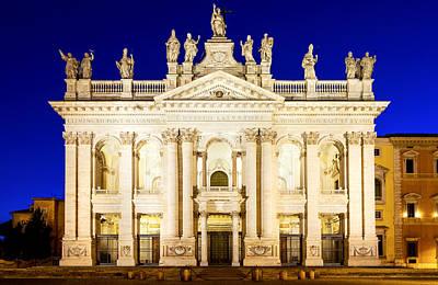 Basilica Di San Giovanni In Laterano Art Print by Fabrizio Troiani